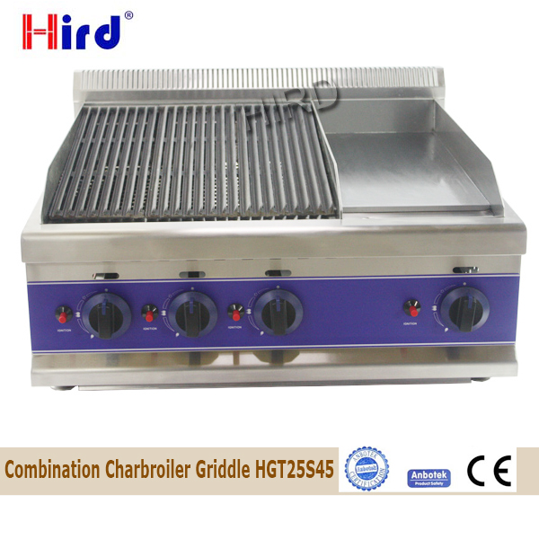 Commercial Griddles, Flat Top Grills & Broilers 4 burners and 10