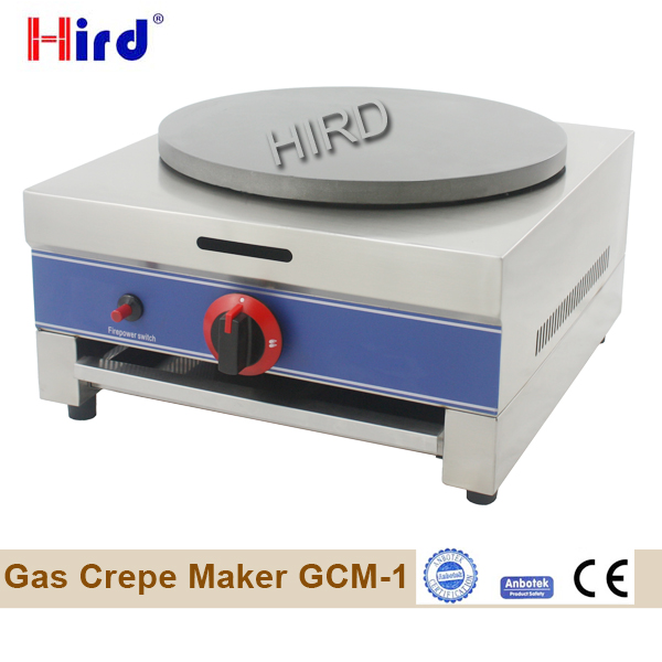 Gas crepe machine and gas crepe maker for sale