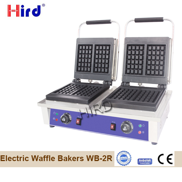 Double waffle maker for Electric waffle baker