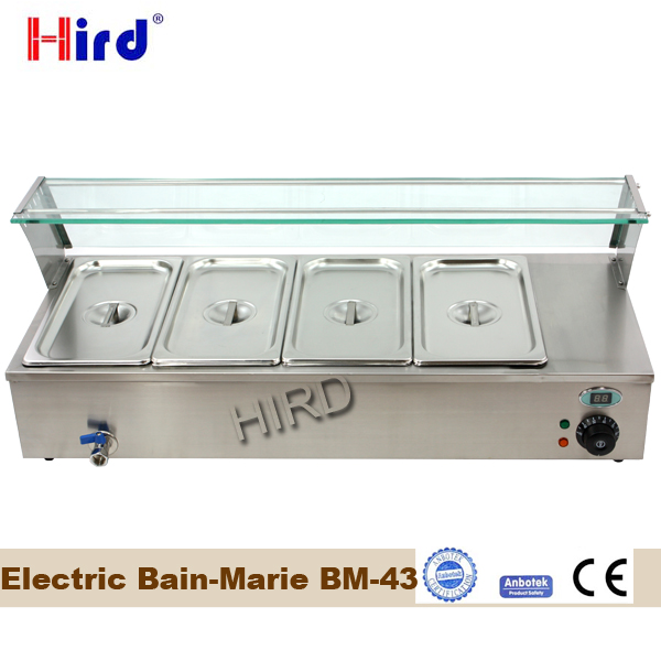 Electric bain marie food warmer for catering bain marie