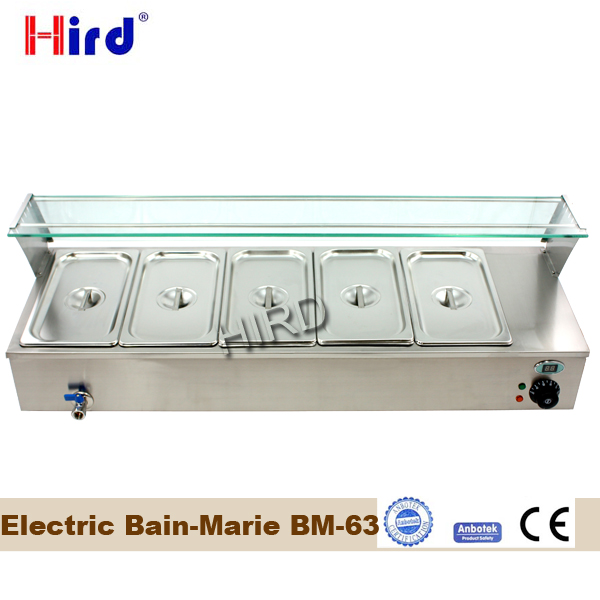 Electric bain marie food warmer or bain marie temperature control